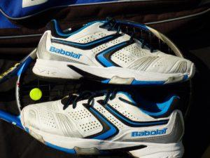 chaussures pour sport de raquette