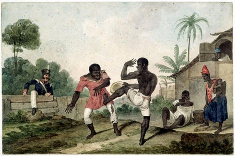 L'histoire de la capoeira