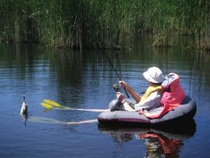 Les 5 meilleurs float tubes pour les jours de pêche