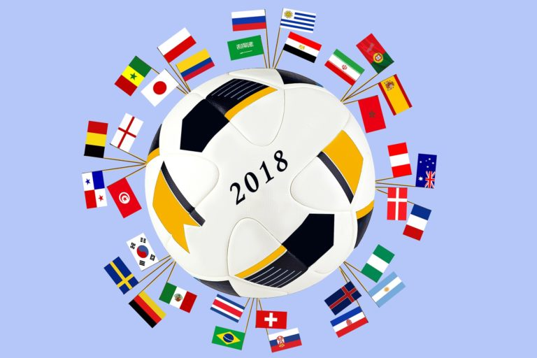 Ballon de foot coupe du monde 2018